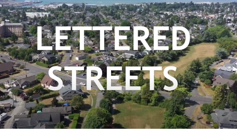 Lettered Streets